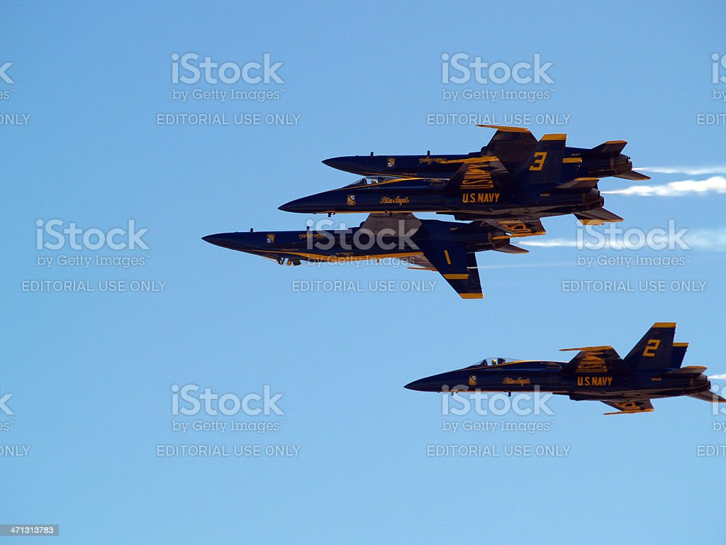 Blue Angels royalty-free stock photo