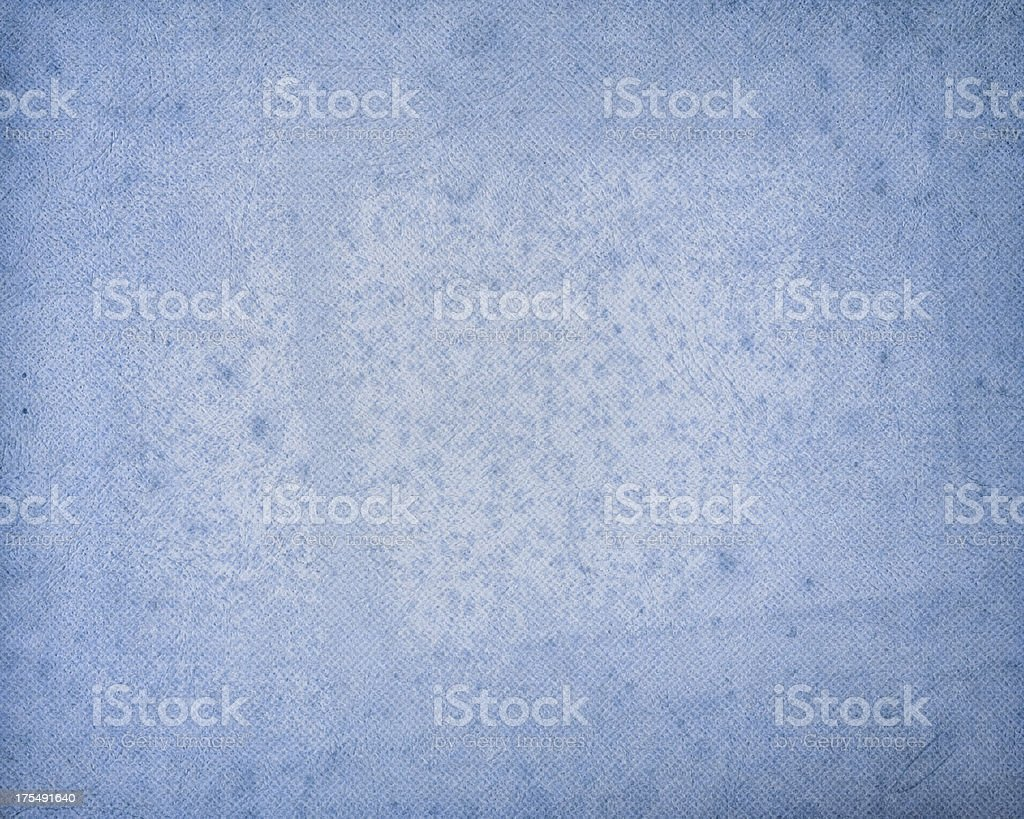 blue antique paper with halftone stock photo