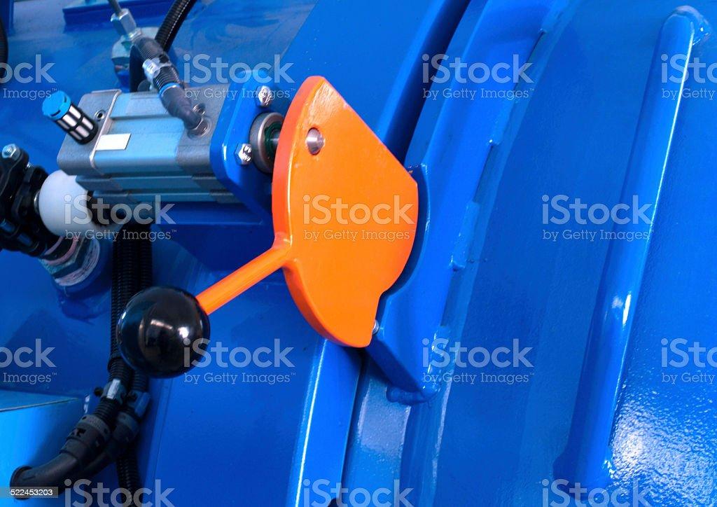 Blue Autoclave Details stock photo