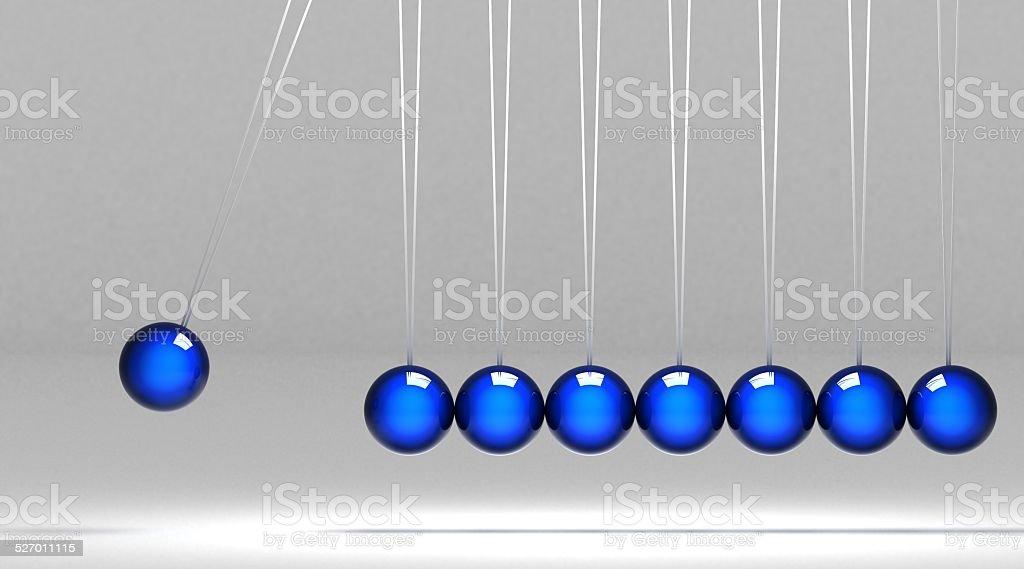 Blue balance stock photo