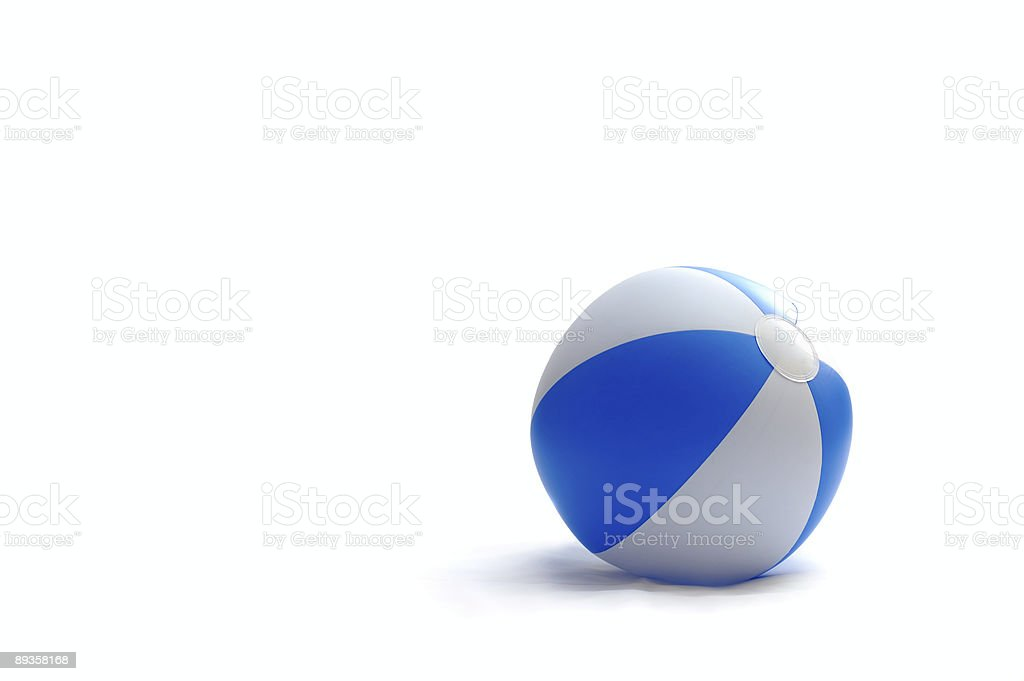Blue Ball stock photo