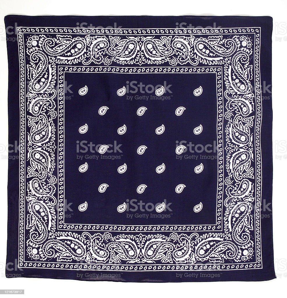 Blue Bandana royalty-free stock photo
