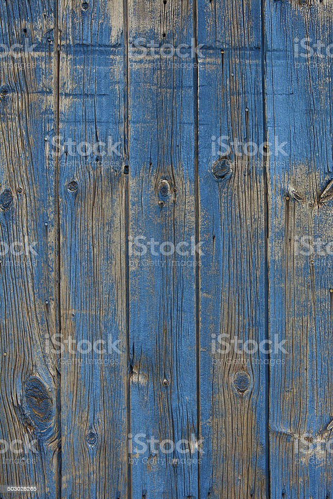 blue barn wood stock photo
