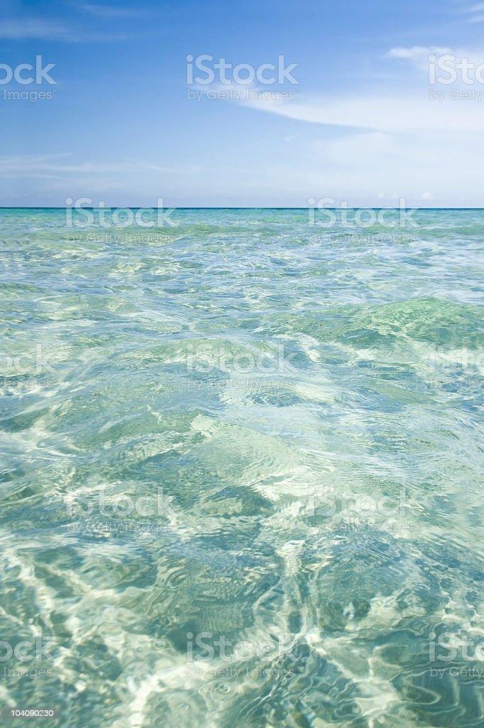 blue beach royalty-free stock photo