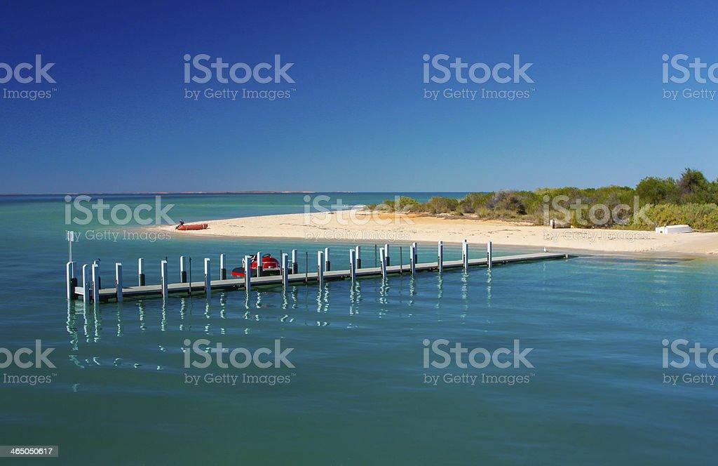 'Blue' Beach stock photo
