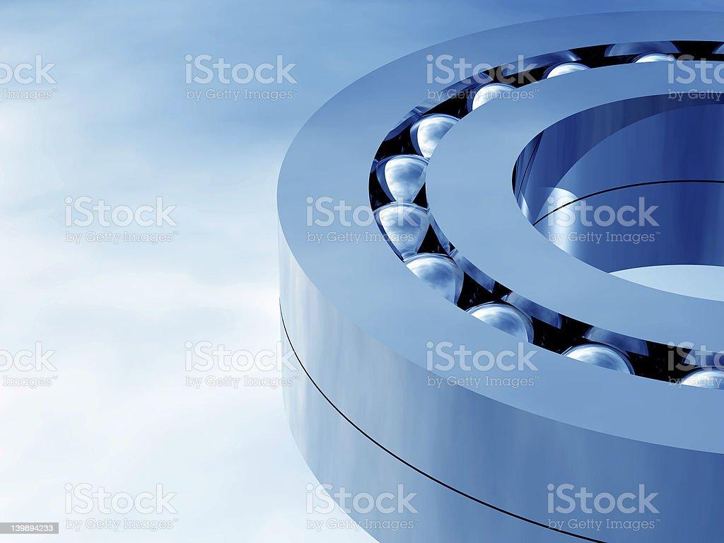 blue bearing royalty-free stock photo