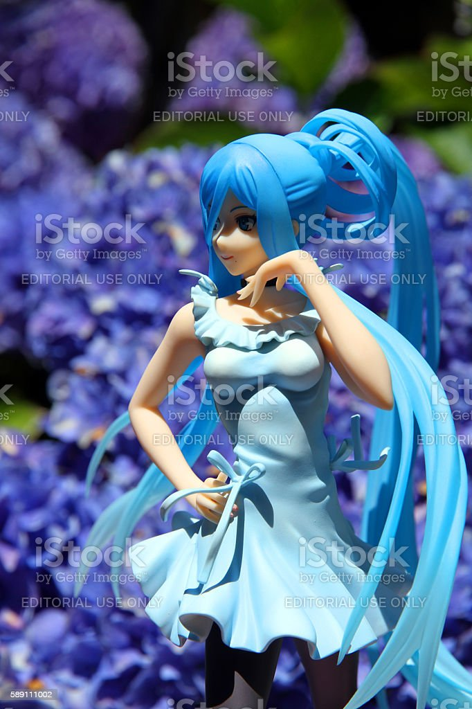 Blue Beauty stock photo