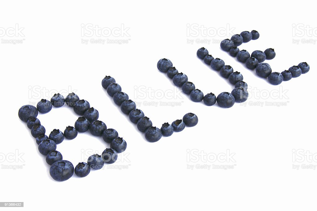 blue berries royalty-free stock photo
