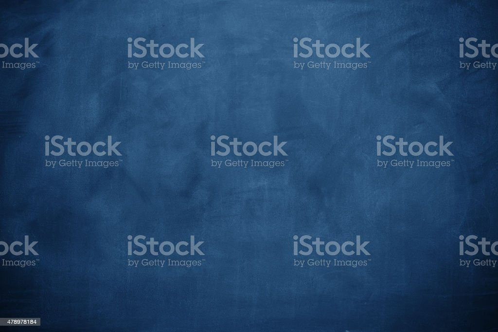 Blue blackboard stock photo
