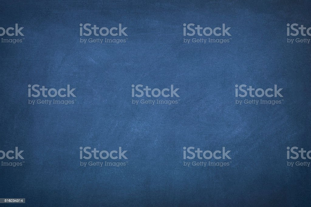 Blue Blackboard stock photo