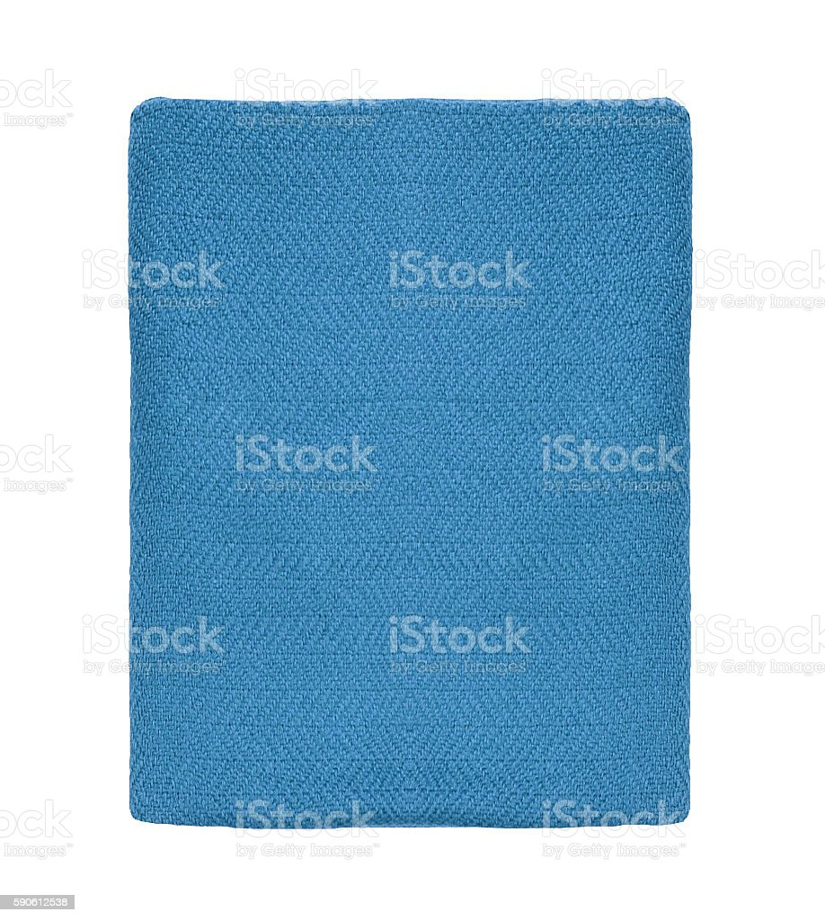 blue blanket stock photo