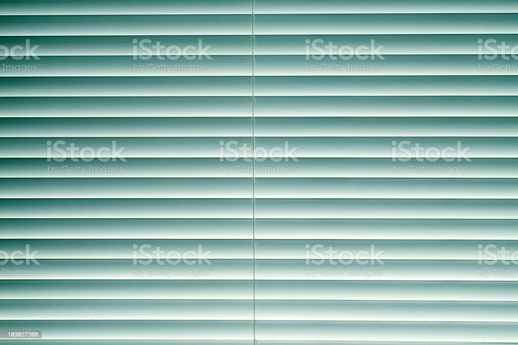 Blue blinds texture background stock photo