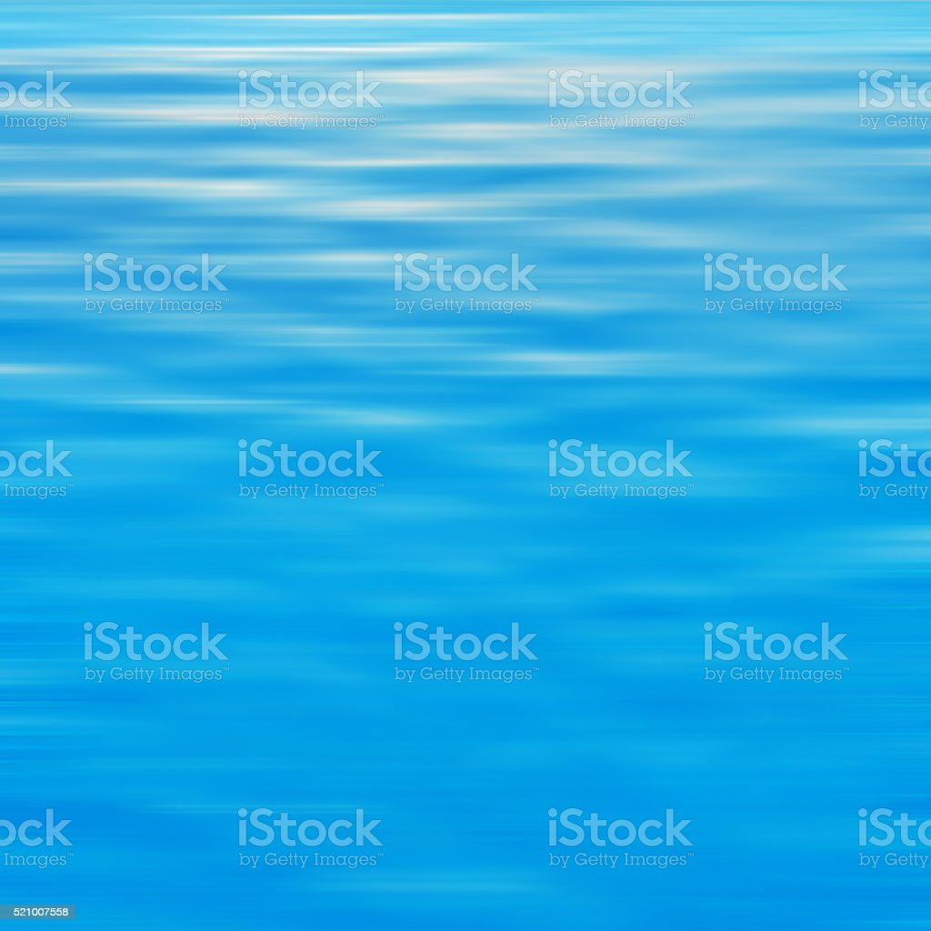Blue blurred abstract background of water stock photo