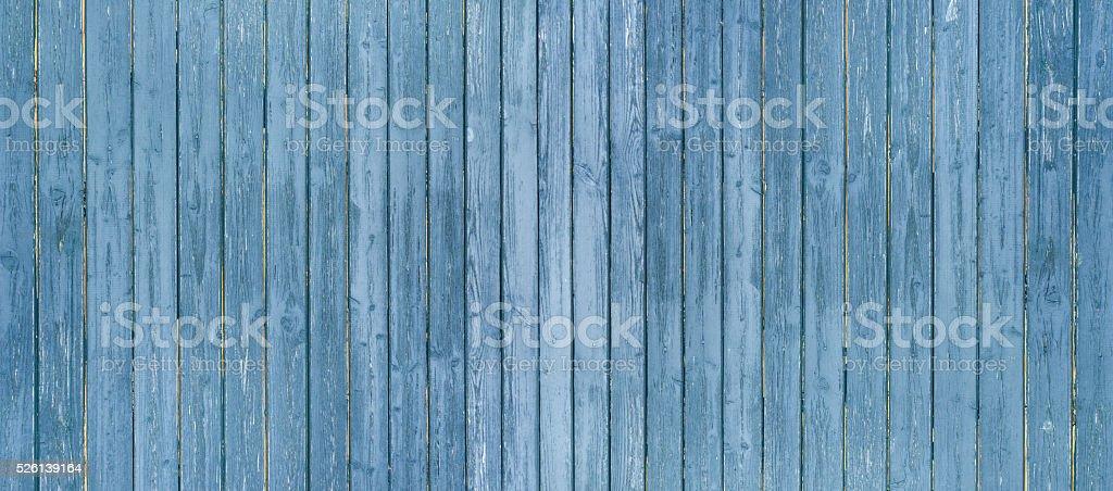 Blue board wall panorama stock photo