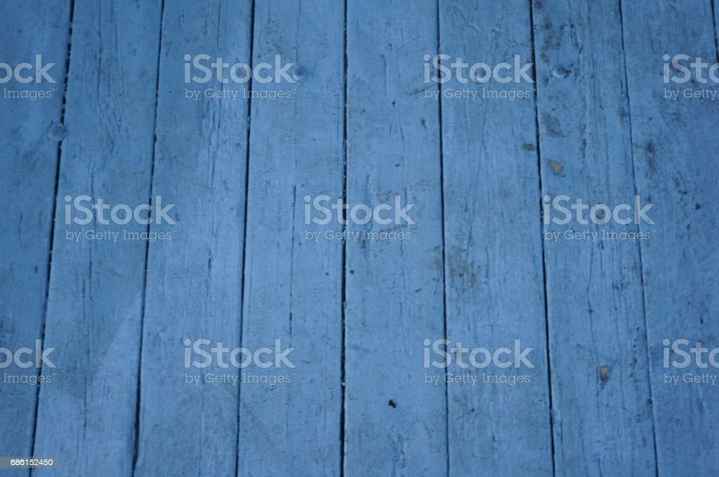 Blue boards stock photo