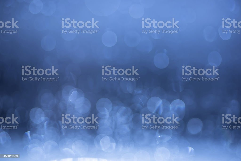 Blue bokeh background. royalty-free stock photo