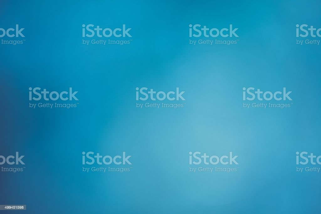 Blue Bokeh Background - Winter Sky stock photo