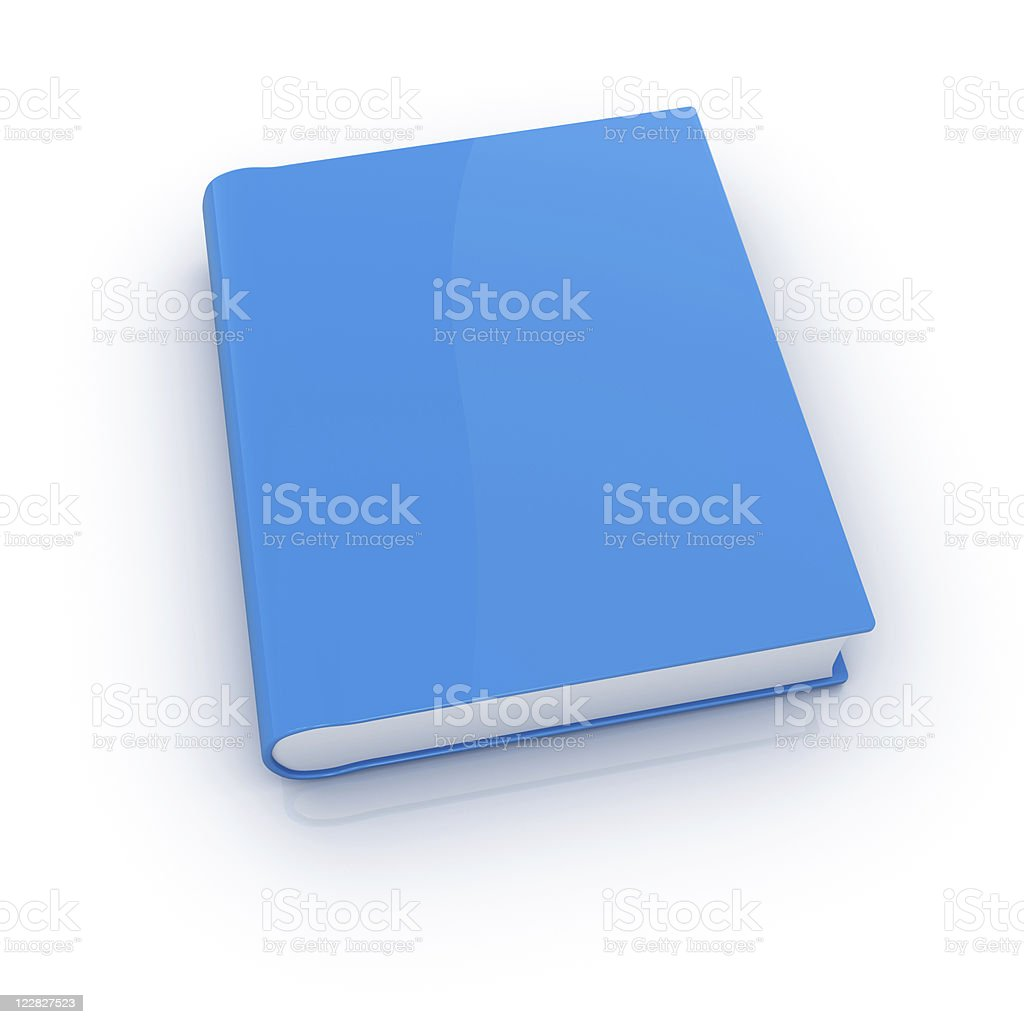 Blue Book royalty-free stock photo