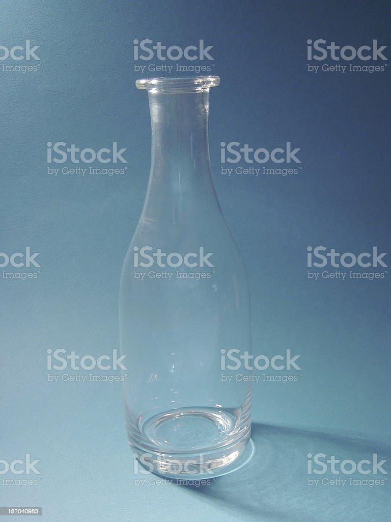 blue bottle 2 royalty-free stock photo
