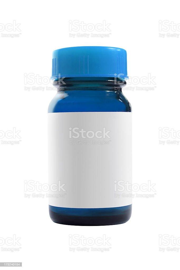 Blue Bottle royalty-free stock photo