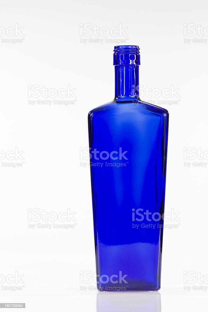 blue bottle stock photo
