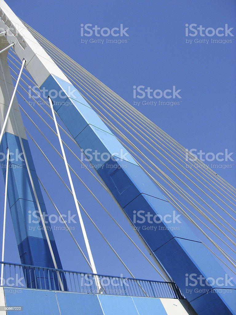 blue bridge marbella royalty-free stock photo