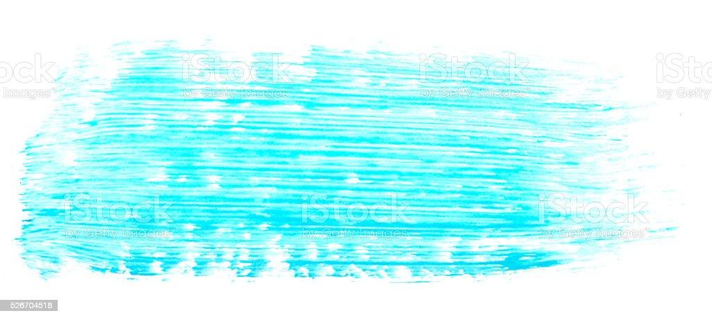 blue brush stroke stock photo