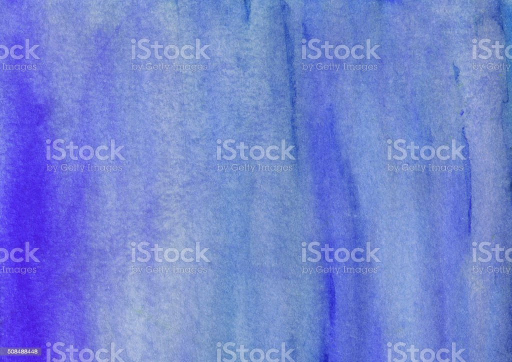 Blue brush strokes hand painted with subtle color gradient vector art illustration