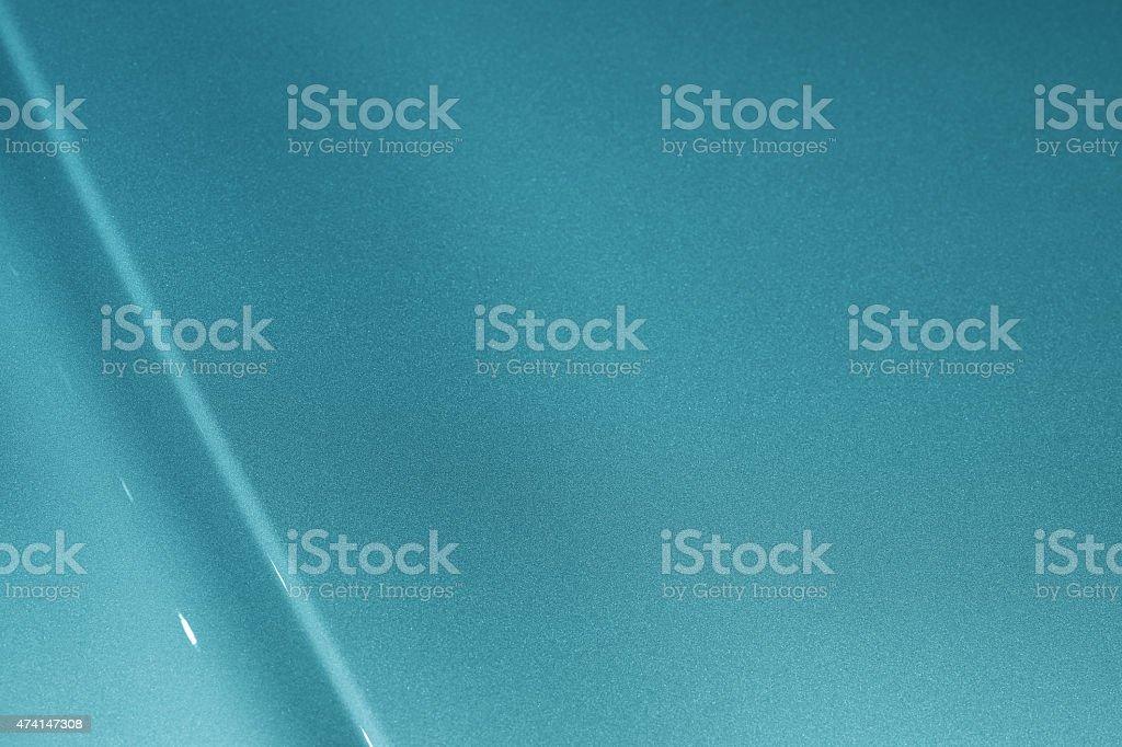 Blue Car Hood Background stock photo