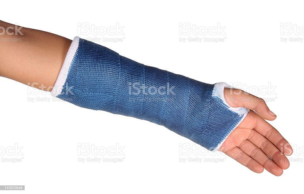 Blue cast stock photo
