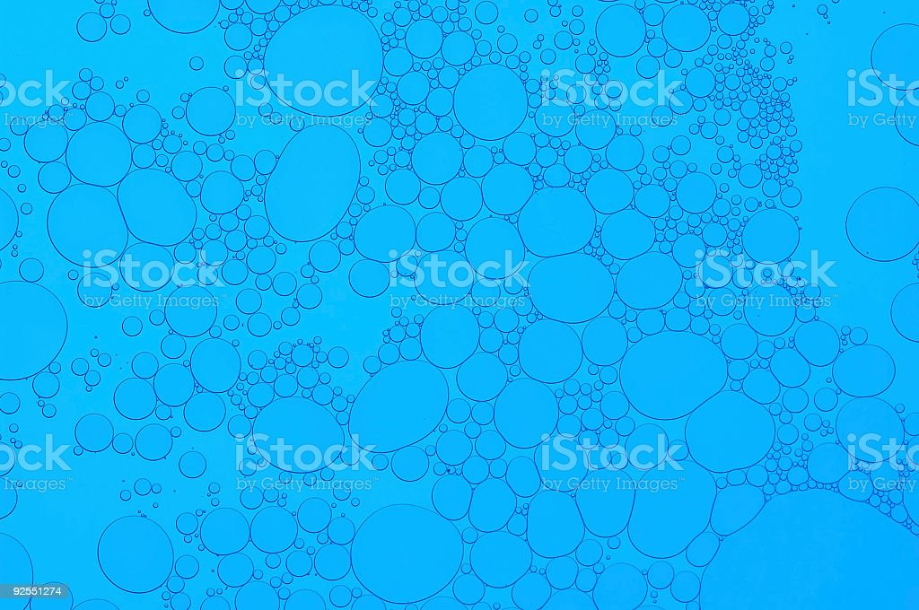 Blue Cell royalty-free stock photo