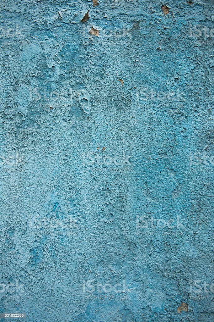 Blue cement background stock photo
