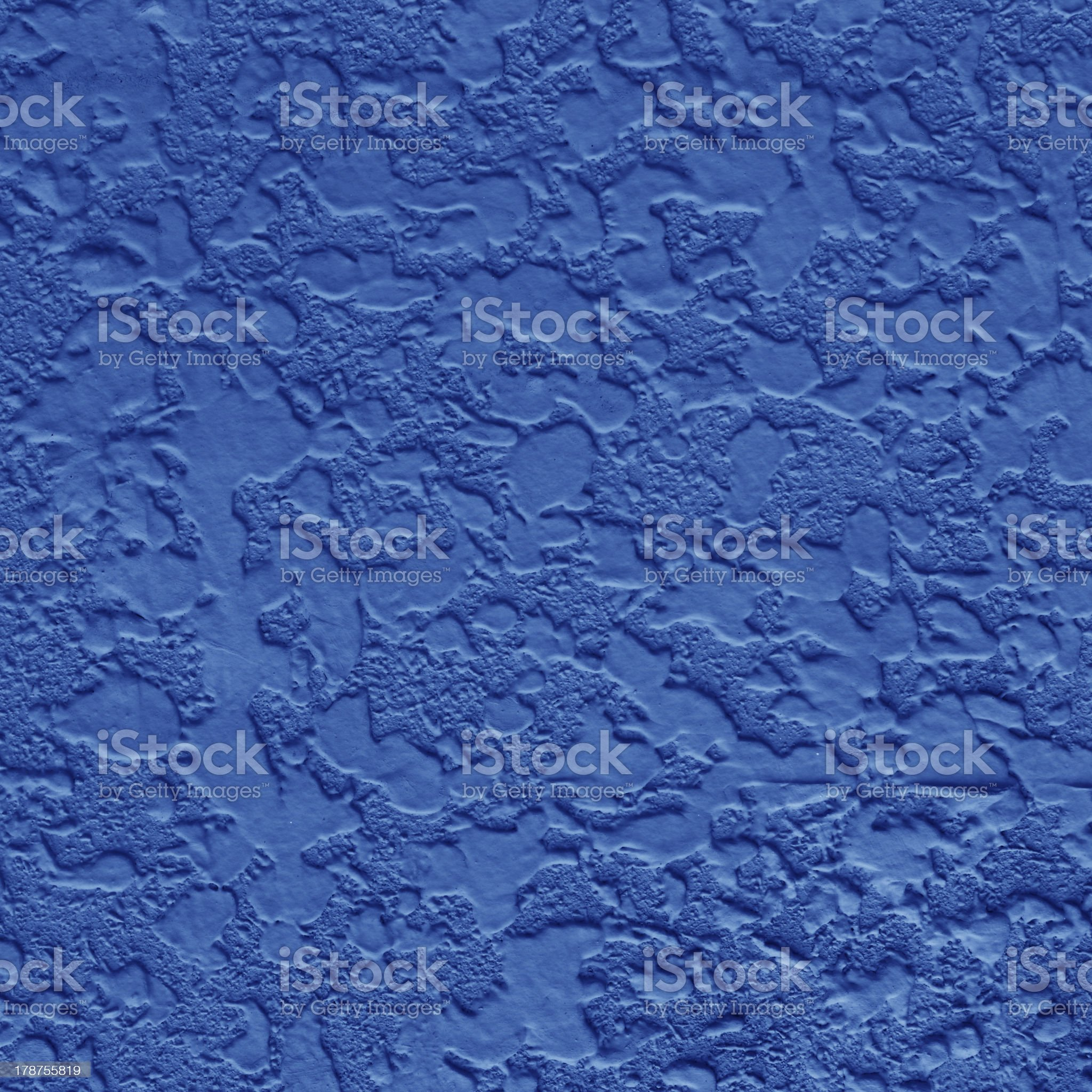 Blue cement wall royalty-free stock photo