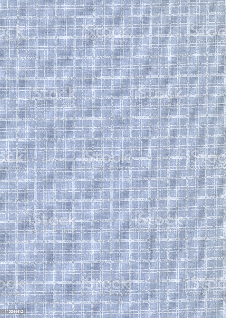 blue checked fabric royalty-free stock photo