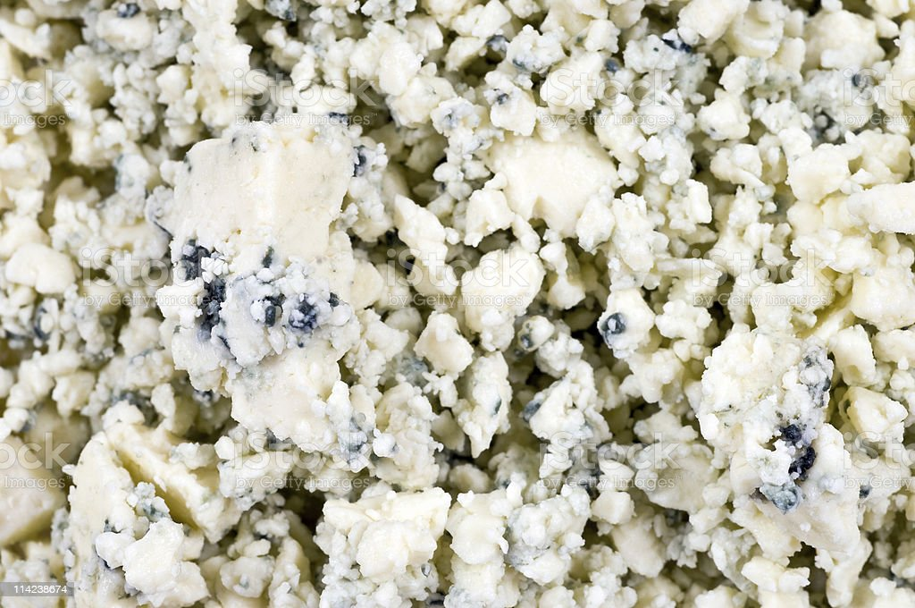 Blue cheese background stock photo