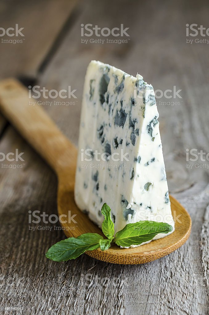 Blue cheese stock photo