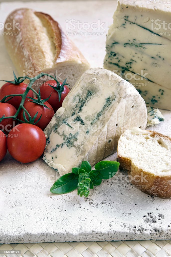 Blue Cheese still life royalty-free stock photo