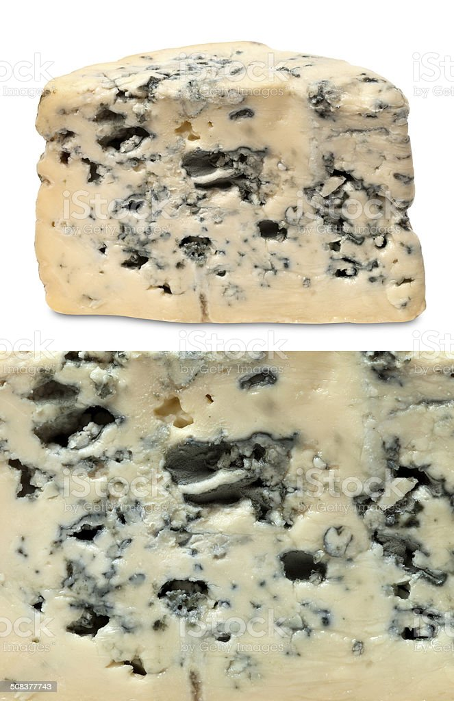 Blue cheeses stock photo