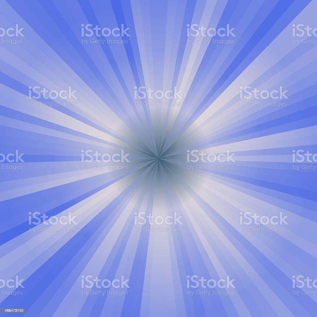 Blue circle rays stock photo