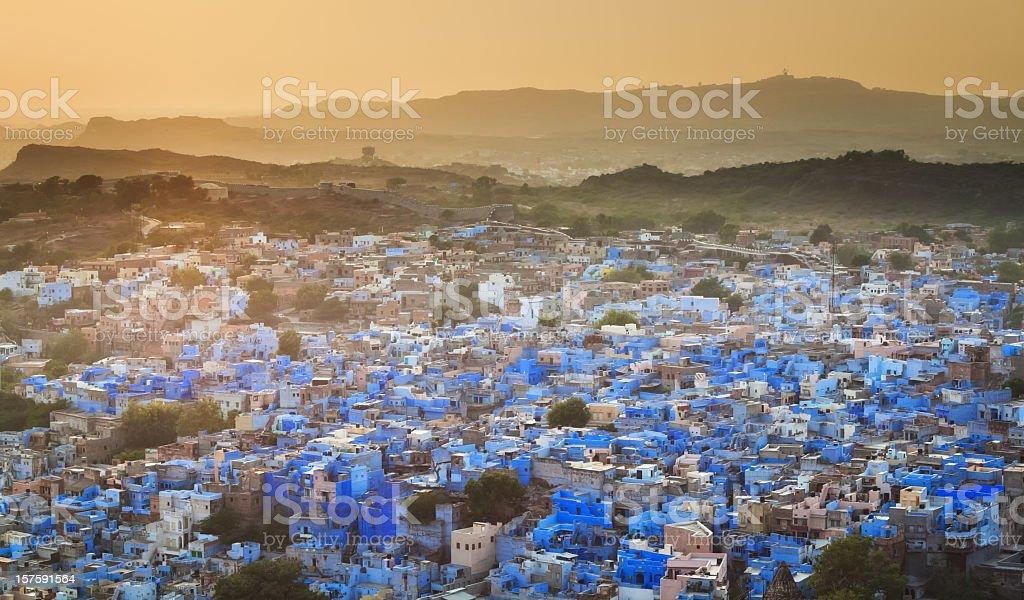 Blue City - Jodhpur stock photo
