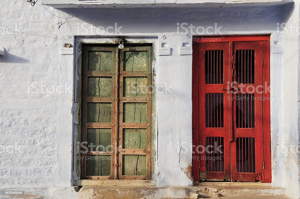 Blue city,Jodhpur,Rajasthan,India. royalty-free stock photo