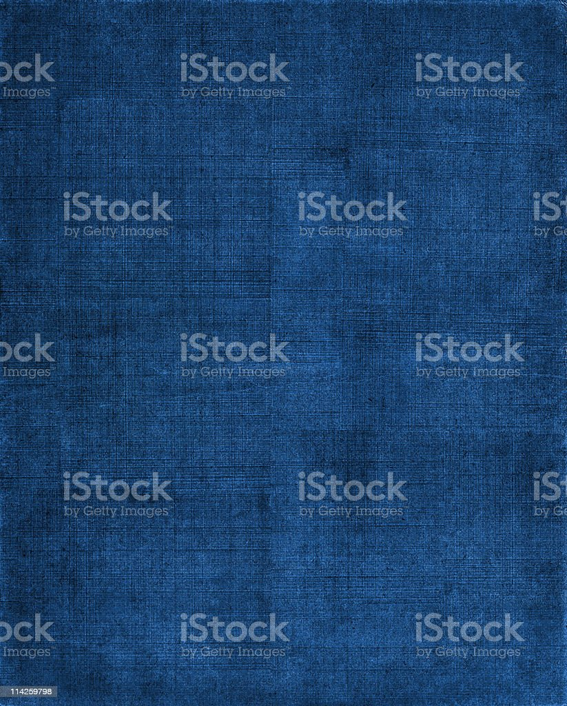 Blue Cloth Background stock photo