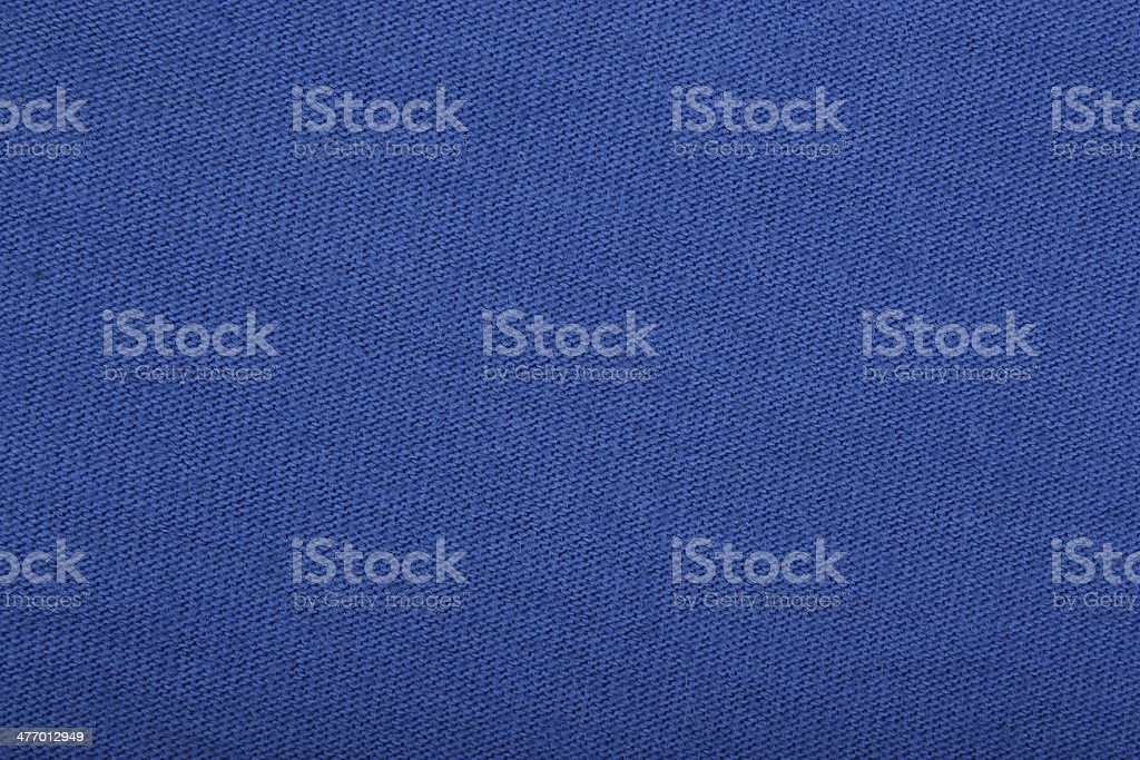 Blue cloth texture background stock photo