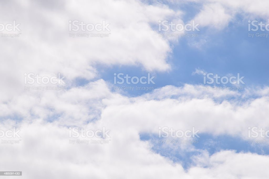 Blue cloudy sky royalty-free stock photo