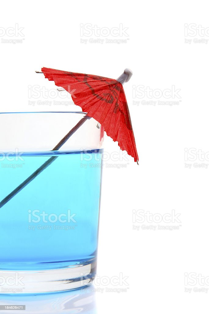 Blue Cocktail royalty-free stock photo