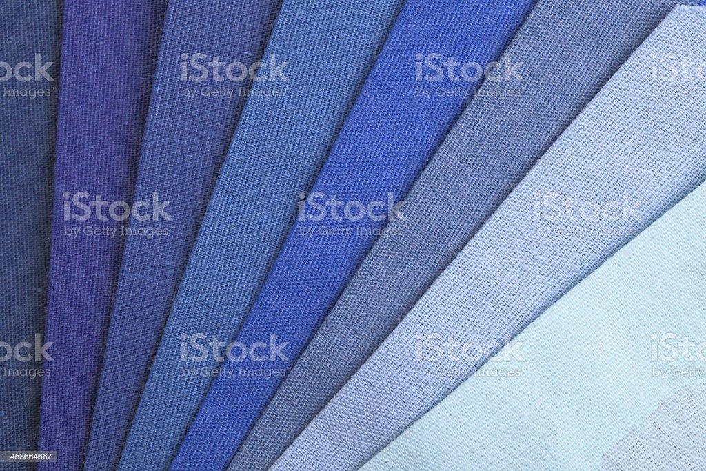 Blue Color Range royalty-free stock photo