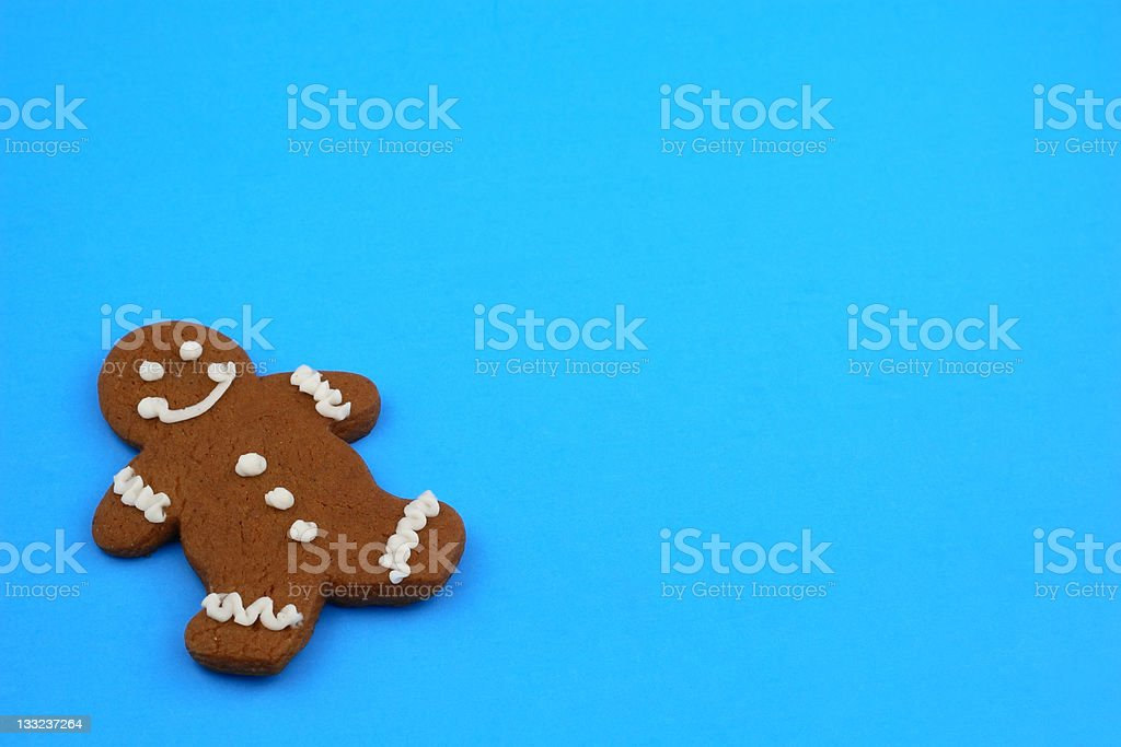 Blue Cookie Background royalty-free stock photo