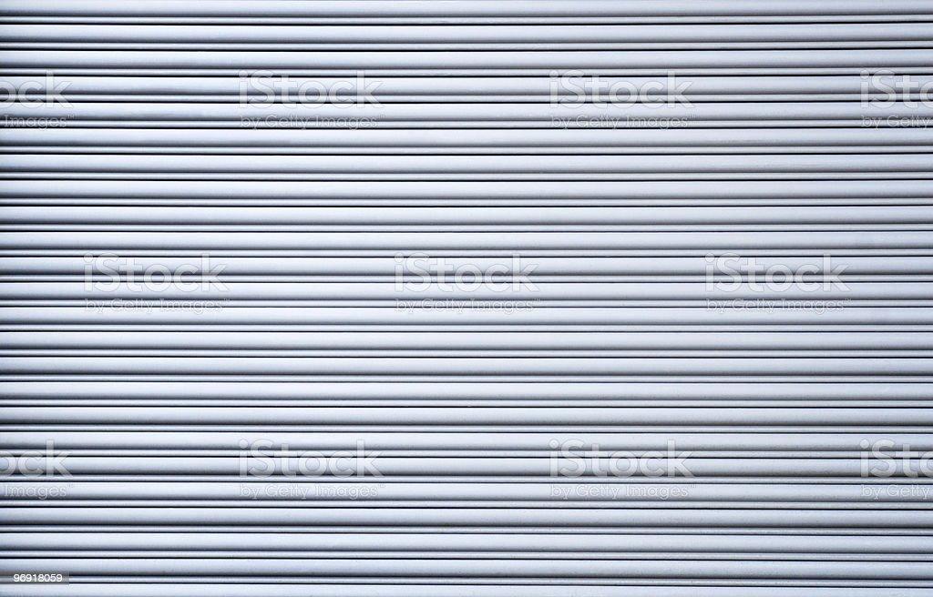 Blue Corrugated Background royalty-free stock photo