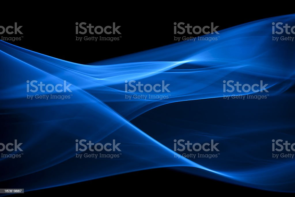 blue, creative abstract vitality impact smoke photo stock photo