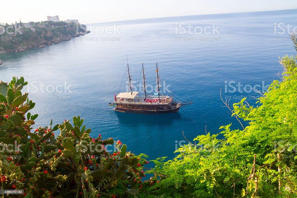 Blue Cruise stock photo